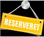 reserveret
